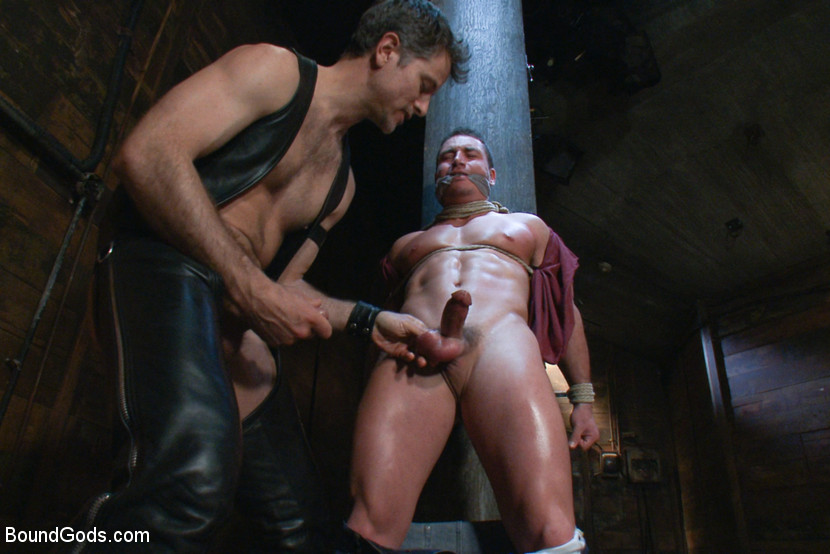 Marc Dylan is tied up and fucked by Master Avery
