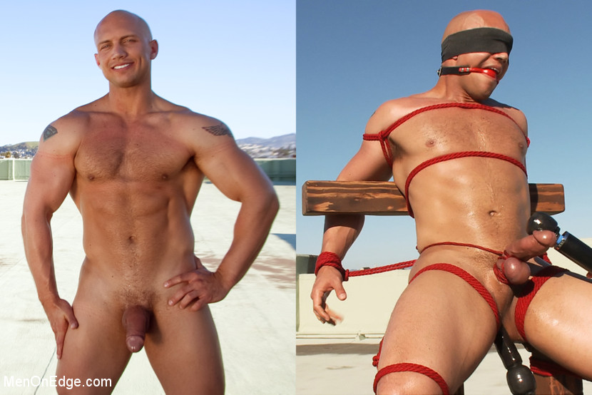 John Magnum is one of the most physically fit models they've had on Men on Edge to date