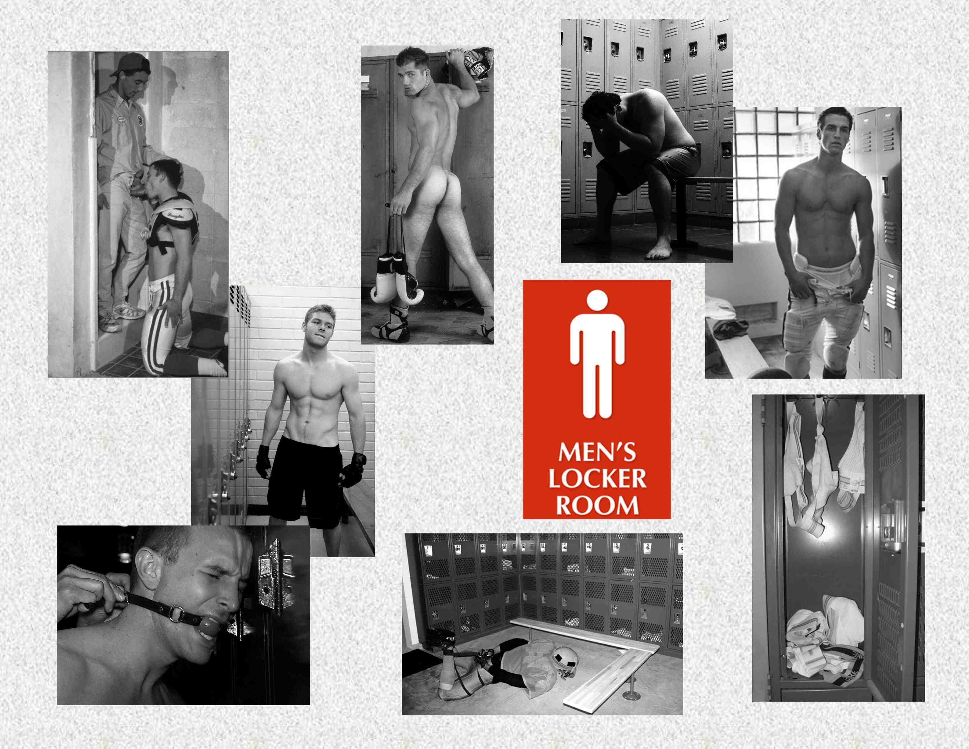 Marknorth Locker Room Tales gay bondage story