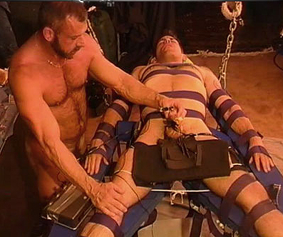 Severe testicle torture