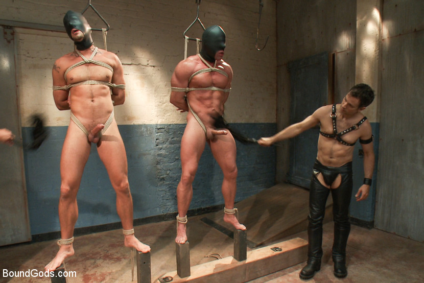 Derek Pain and Jessie Colter endure extreme bondage suspensions