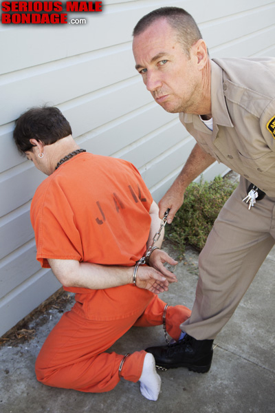 Handcuffed men of the day