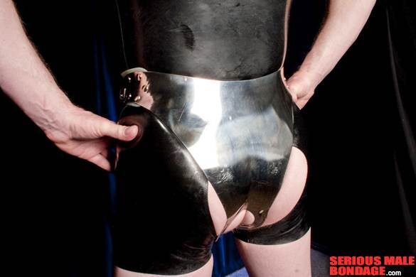 butt hole access Latowsky Chastity Device