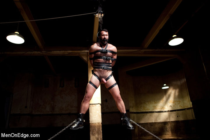 Gay Suspension Bondage