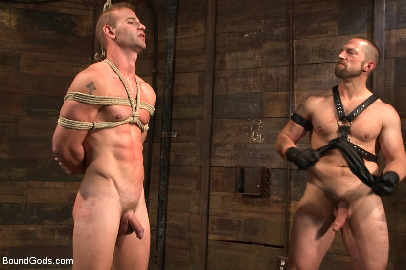 Adam Herst turns Patrick Rouge into his cock slave