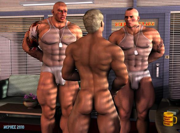 Metalbound gay bondage 05