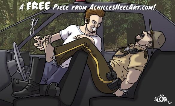 Achilles Heel Art 04