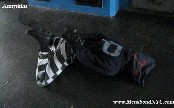 Armyskins in bondage Metalbond 01