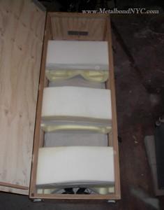Building a confinement box Metalbond 04