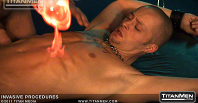 Tony Buff and Tibor Wolfe join Dirk Caber, Ethan Hudson, and Timmy Ryan to explore their darker sides in white-hot scenes of piss play, steel urethra sounding, scrotal infusions, punch-fisting and fire play