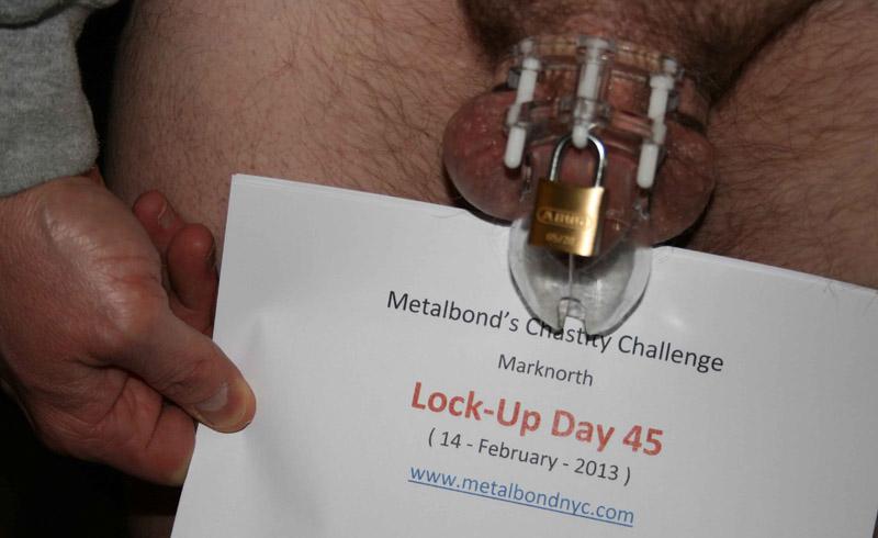 Metalbond's Chastity Challenge: Day 45