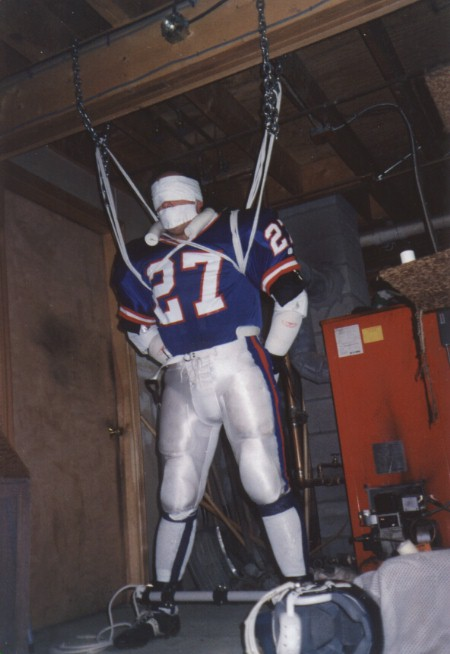Tied up in football gear footballev 07