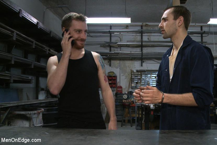 Gay bondage handcuffs