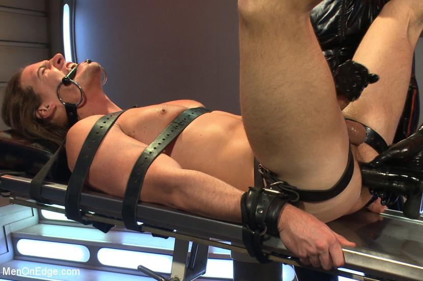 Ailen abduction rubber bondage fetish