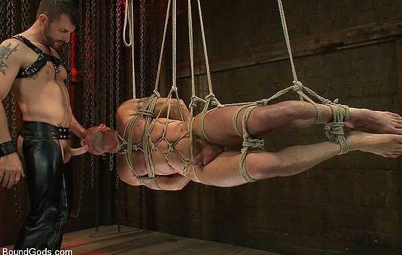 Nice rope tie suspension!