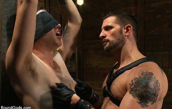 Morgan Black takes Tony Hunter to his limits