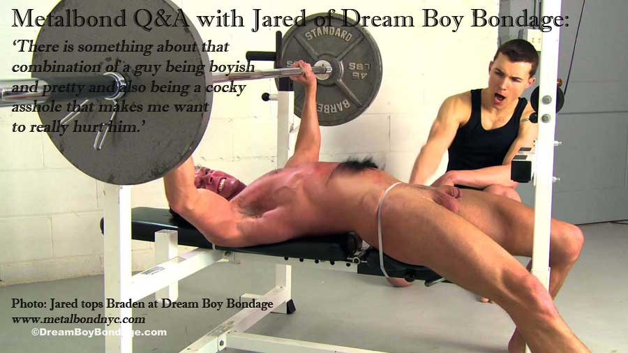 Dreamboy bondage jared