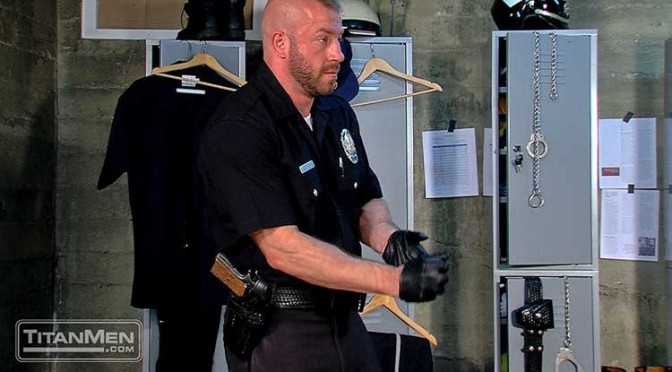Bad Cop: Scene 3 with Hunter Marx and Damien Stone