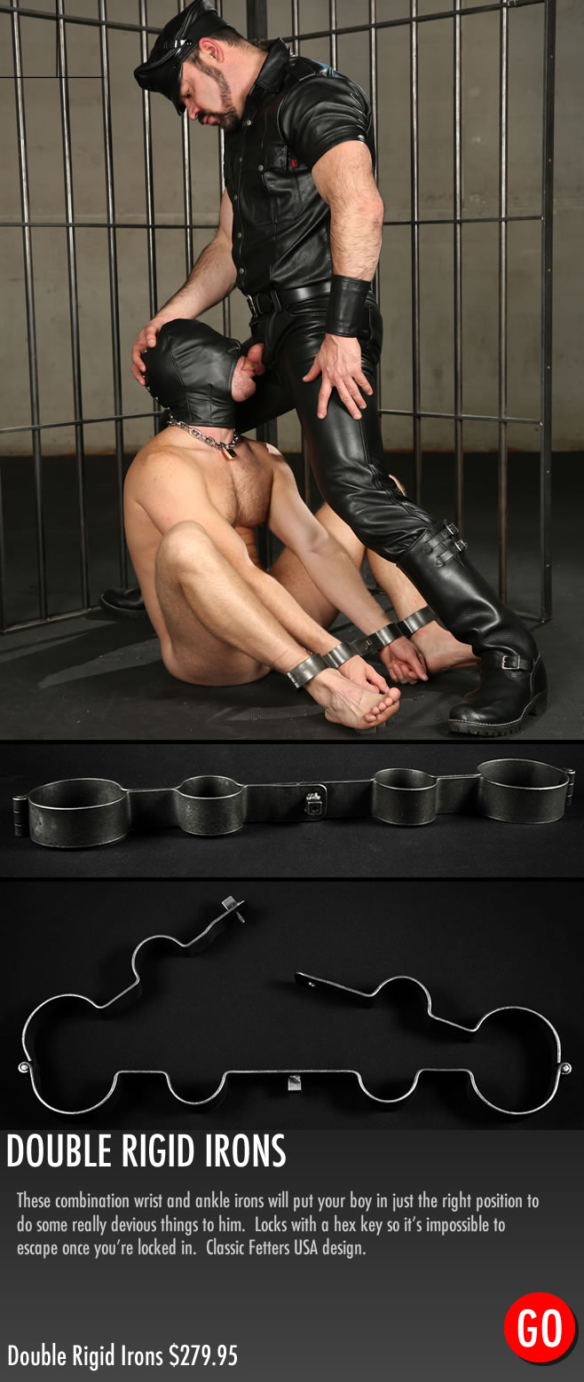MetalbondNYC_gay_male_bondage_Mr_S_double_rigid_irons