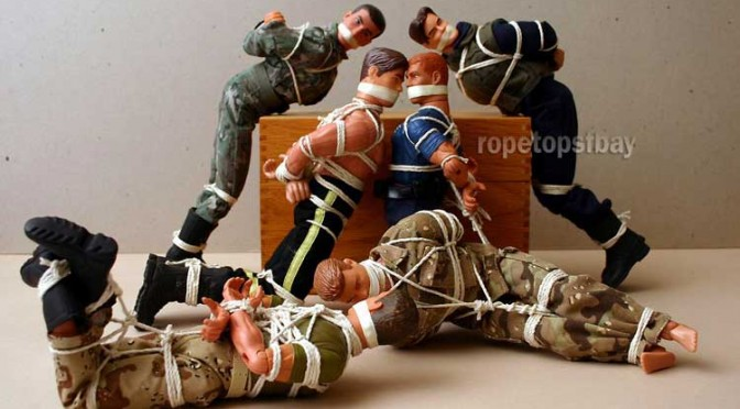 Tying up GI Joe