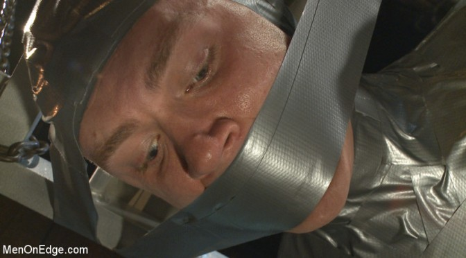 Zane Anders gets bound in duct tape