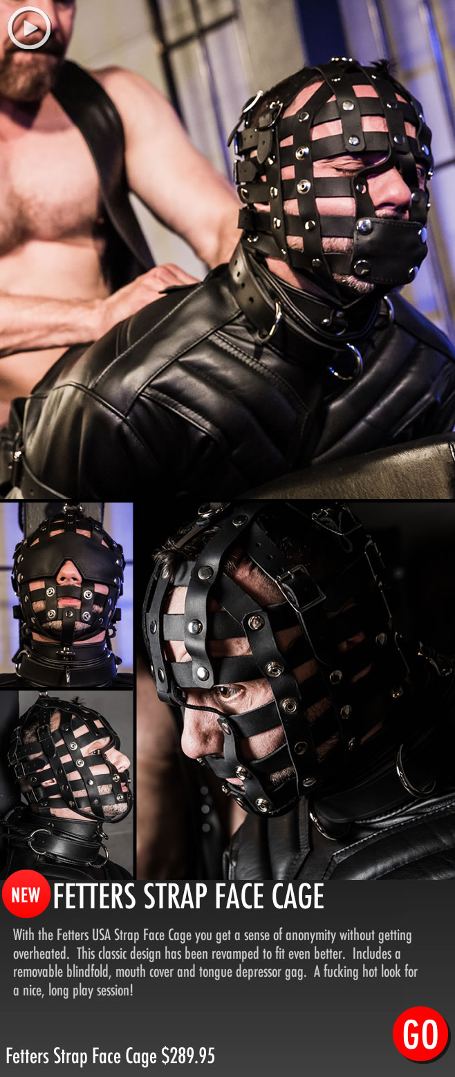Gay_Bondage_Fetters_Strap_Face_Cage