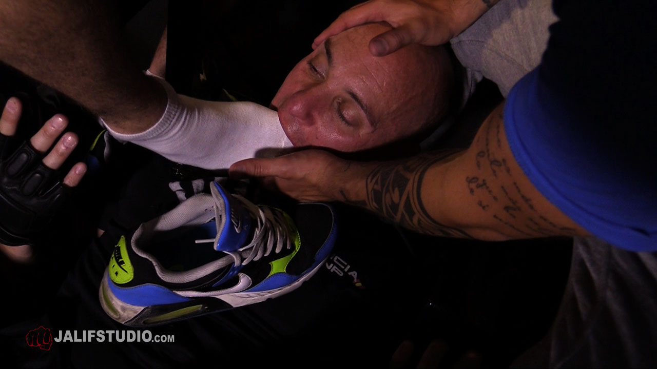 Severe_Testicle_Torture_spit_sneakers_05