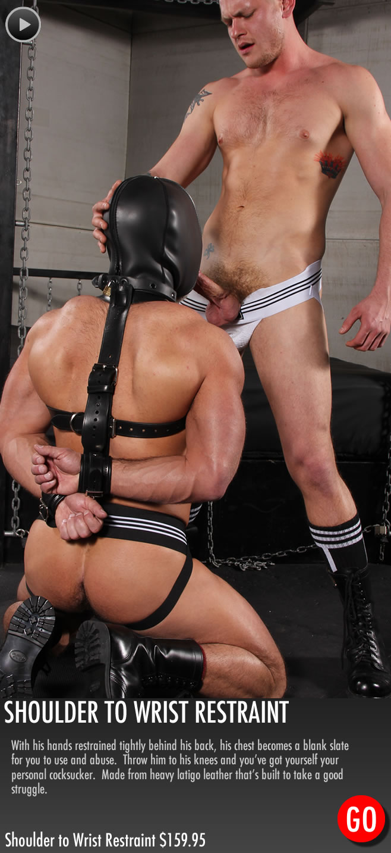 gay_bondage_Shoulder_to_Wrist_Restraints