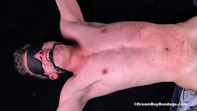 Pictures and video: Noah in 'Silent Slavery' at Dream Boy Bondage