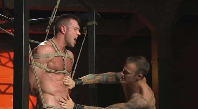 Alex Mecum submits to Christian Wilde and receives a mouthful of cum