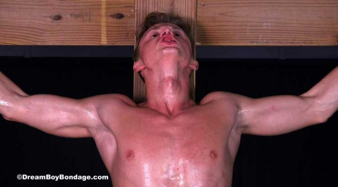 Pictures and video: Alexei is tortured with a long-term crucifixion