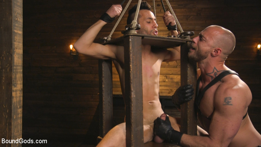 Adult gay sex stories bondage dungeon slave master adult