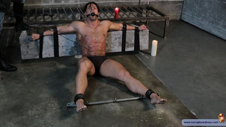 Nude rubber dildo panty