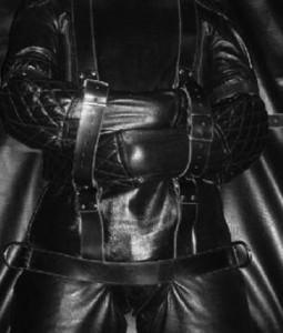 leather straitjacket