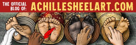 Achilles Heel Art Blog