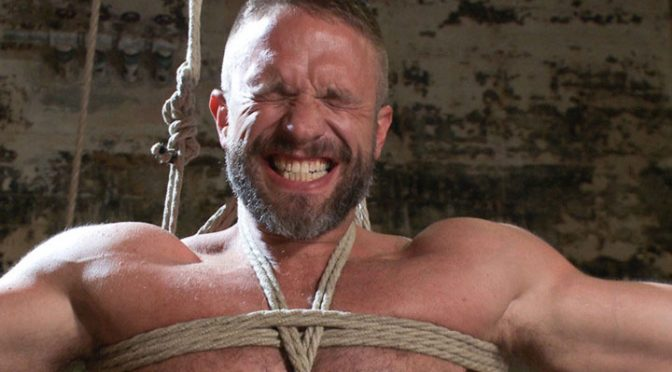 Dirk Caber and Morgan Black at Bound Gods