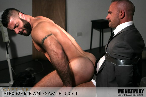 Alex Marte and Samuel Colt at Men at Play