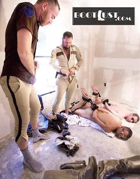 Cop bondage