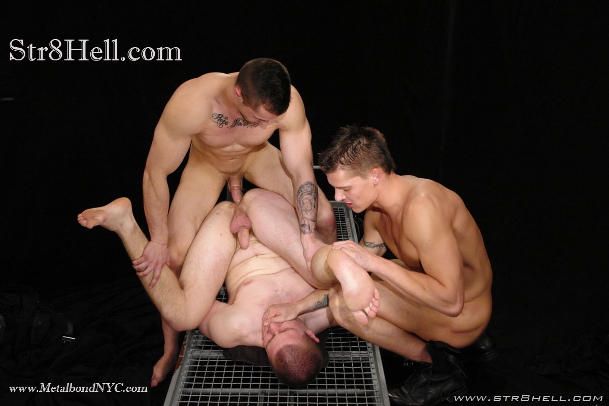 tied up and fucked double penetrated gay sex free porn