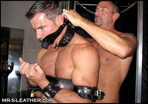 gagged men of the day