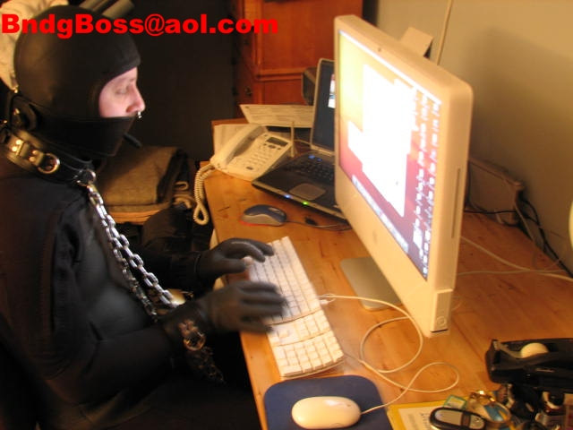 chained to the computer
