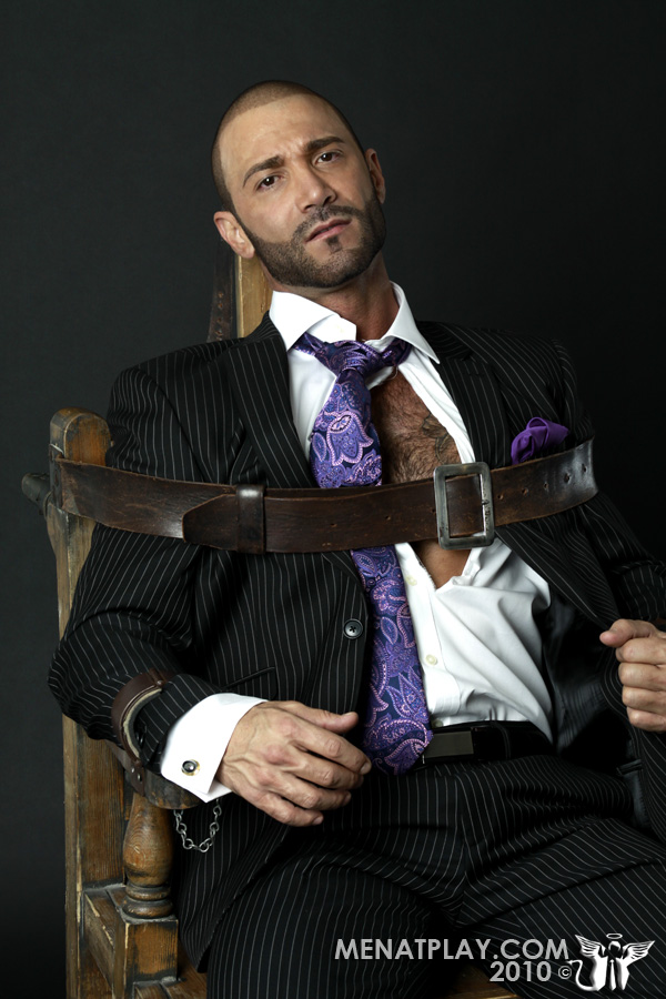muscle man bondage