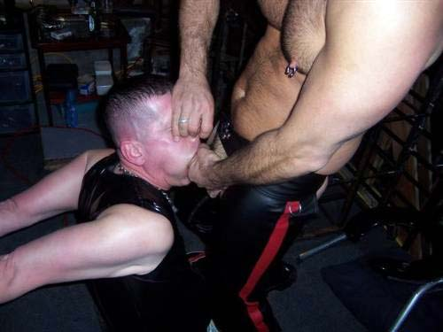 MetalbondNYC forced to suck and swallow 07