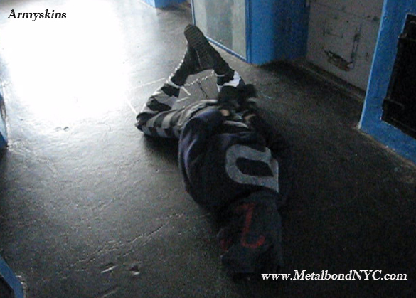 Armyskins in bondage Metalbond 02