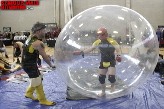 Rubber hamster ball