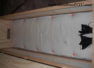 Building a confinement box Metalbond 03