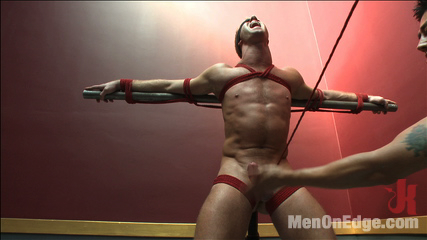 Porn Superstar Christopher Daniels - Bound, Violated and Edged