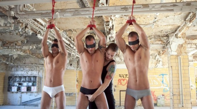 The Visconti Triplets in bondage