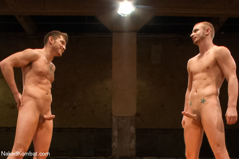 Steve Sterling is back after losing his first Naked Kombat match against DJ, and this time, he's determined to fuck