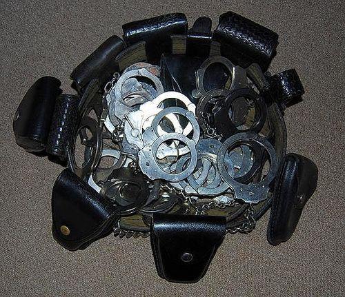 handcuffs Chuck Kuffed